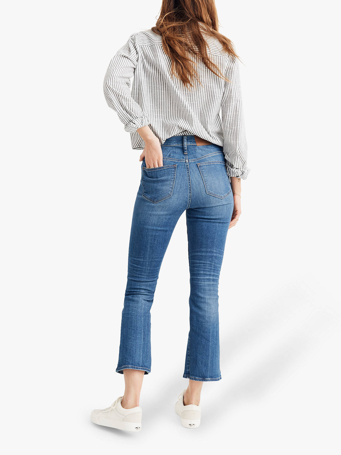 Buy Madewell Cali Demi-Boot Eco Jeans, Tierney Wash, 23 Online at johnlewis.com