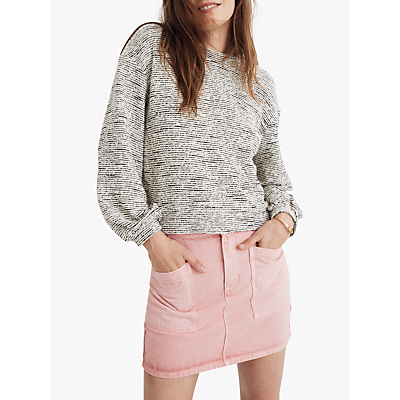 Madewell Begonia Sweatshirt, Heather Grey