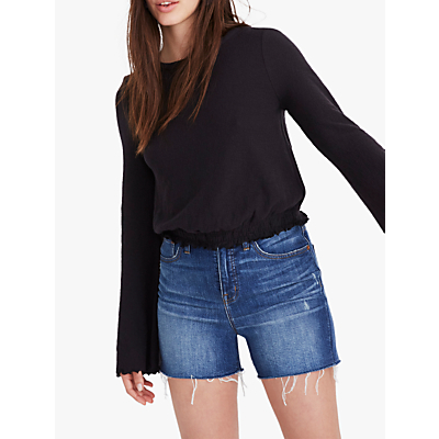 Madewell Cindy Bell Sleeve Top