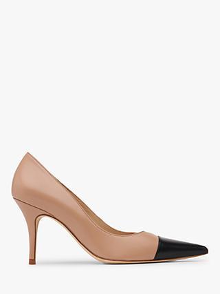 6affbe6c24d L.K.Bennett Malia Contrast Toe Court Shoes