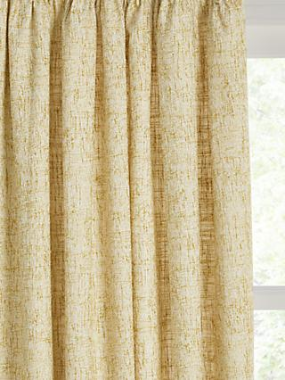 John Lewis & Partners Boucle Pair Lined Pencil Pleat Curtains