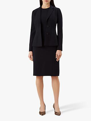 Hobbs Alina Tailored Jacket, Navy