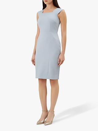 Hobbs Harper Dress, Pale Blue