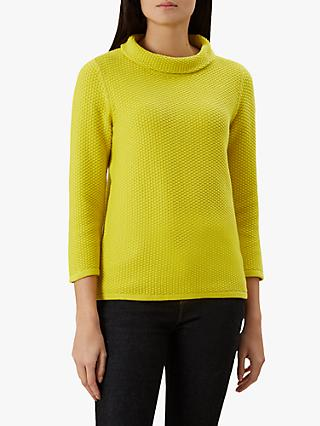 Hobbs Camilla Sweatshirt, Yellow