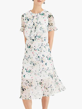 Phase Eight Tallulah Floral Dress, Cream