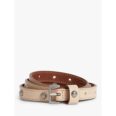 Image of AllSaints Aimee Studded Leather Belt