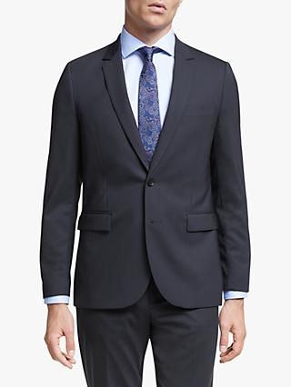 Paul Smith Wool Stretch Tailored Fit Suit Jacket, Navy