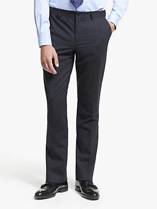 Paul Smith Wool Stretch Tailored Fit Suit Trousers, Navy