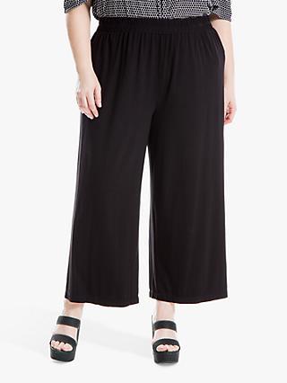 7fcfbc0d03a Max Studio + Cropped Wide Leg Jersey Trousers