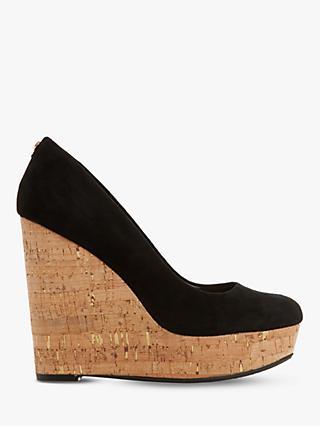 Dune Alycea High Wedge Heel Court Shoes c650c7b03