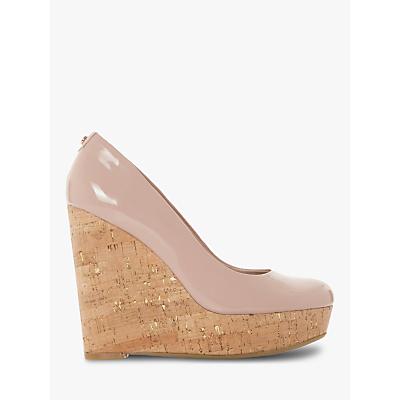 Dune Alycea High Wedge Heel Court Shoes