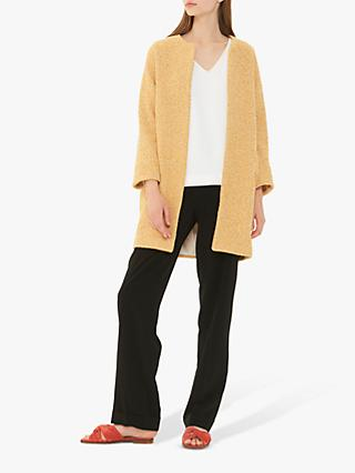 Gerard Darel Manteau Coat, Yellow