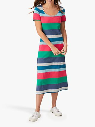 White Stuff Fairtrade Jennie Stripe Dress, Multi