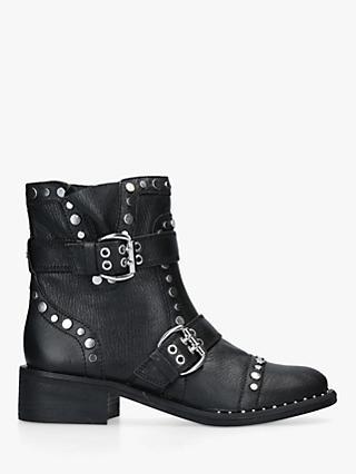 4064577c1d2 Sam Edelman Drea Moto Stud Buckle Ankle Boots