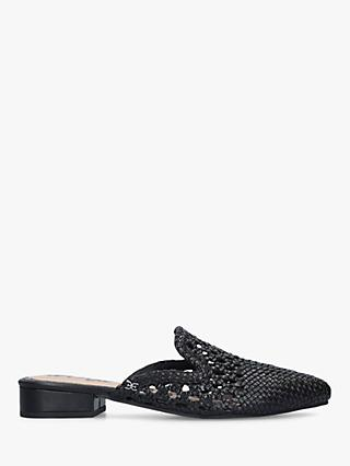fafbba870 Sam Edelman Clara Pointed Woven Leather Mules