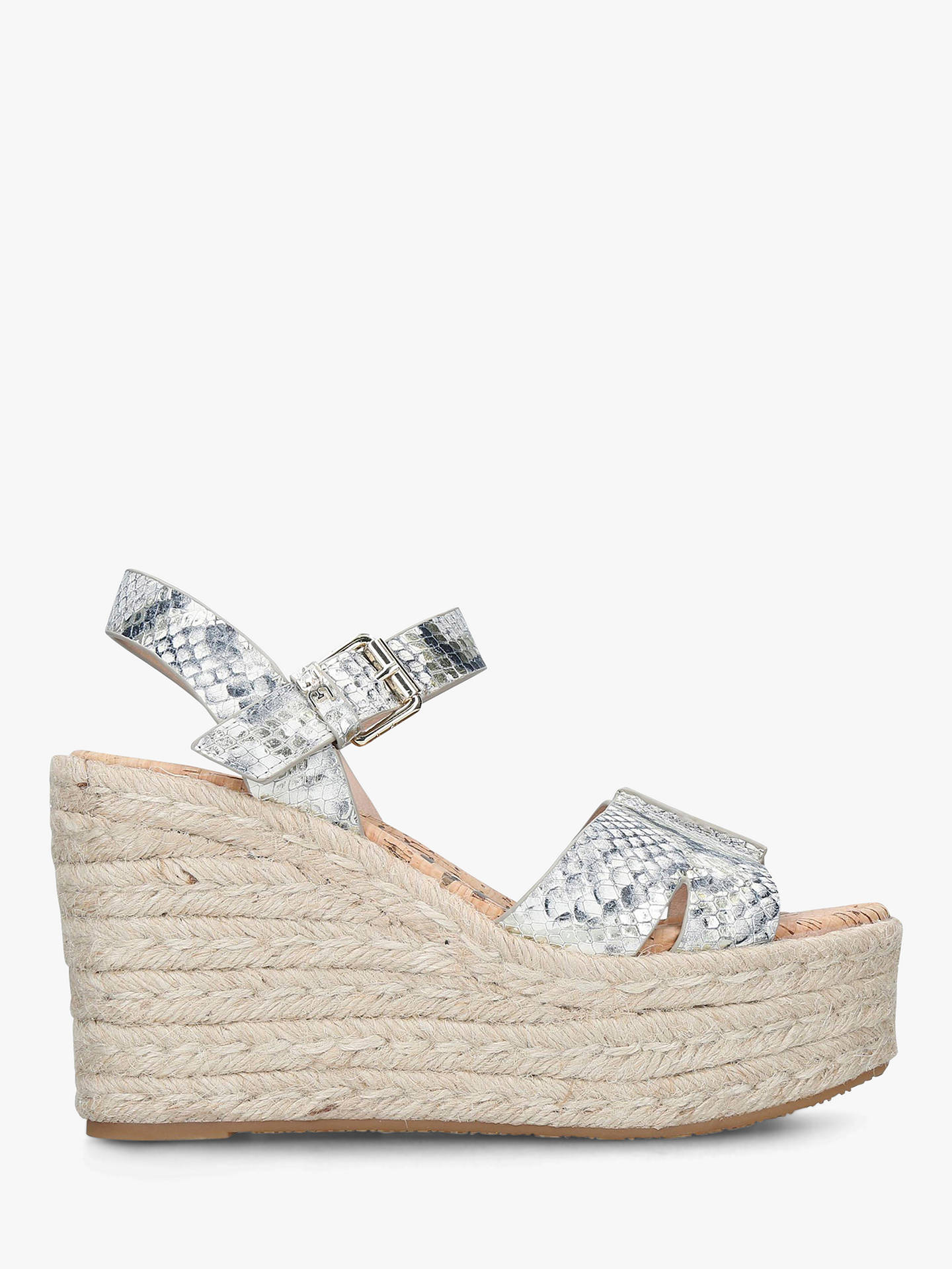 38c0d85e9578 Buy Sam Edelman Maura Leather Snake Print Wedge Sandals