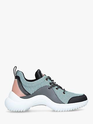 Sam Edelman Meena Trainers, Pink Leather/Mint