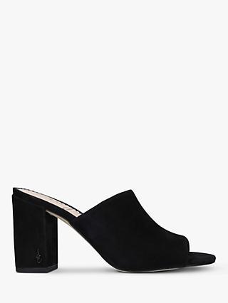 a469bc021f43 Sam Edelman Orlie Suede Block Heel Mule Sandals