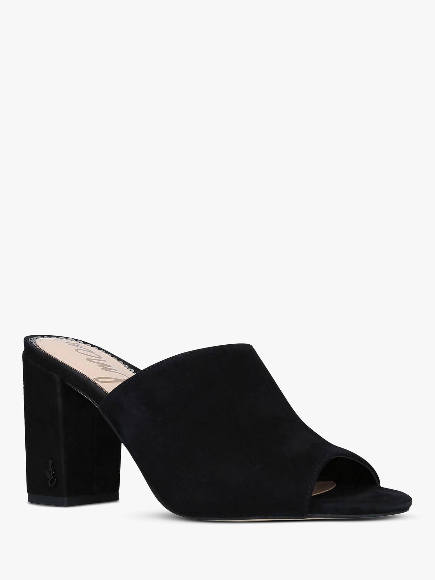 003665e343e ... Buy Sam Edelman Orlie Suede Block Heel Mule Sandals