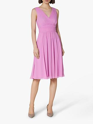 L.K.Bennett Lori Bridesmaid Dress, Purple