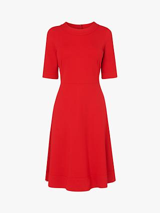 L.K.Bennett Ivelina Jersey Dress, Red