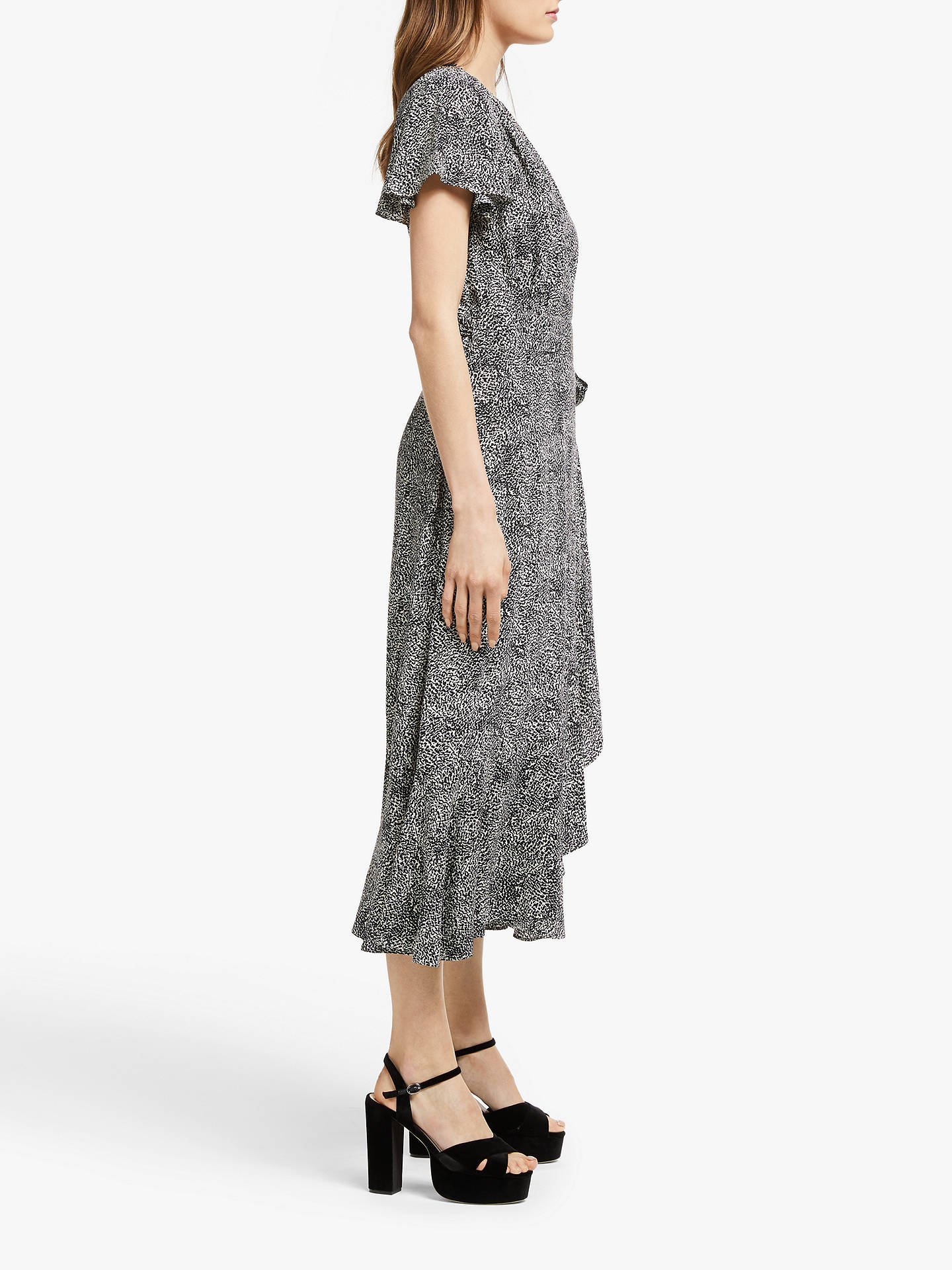 Buy Somerset by Alice Temperley Leopard Print Wrap Dress, Nude, 12 Online at johnlewis.com