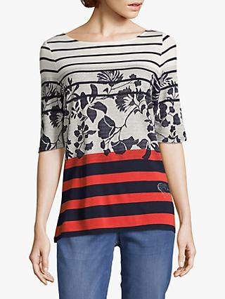 90bf9ccab5b16 Betty Barclay Striped Floral Top