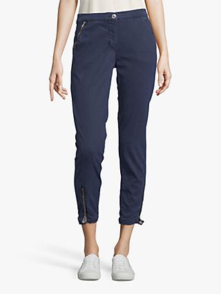 Betty Barclay Cropped Jeans, Peacoat Blue