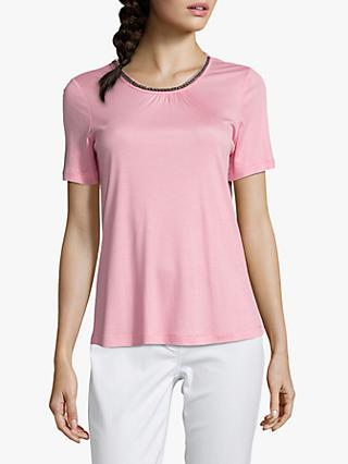 Betty Barclay Embellished T-Shirt, Sea Pink