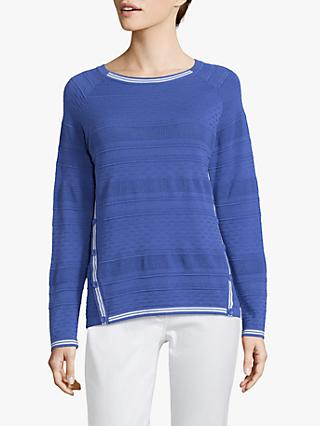 Betty Barclay Fine Textured Knit Jumper, Adria Blue