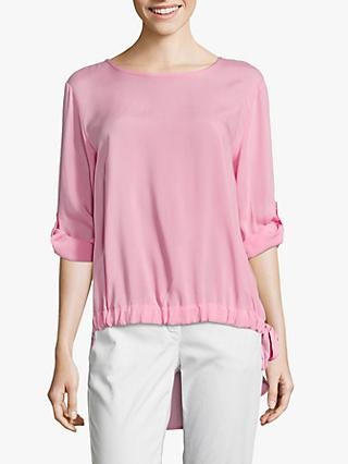 Betty Barclay Tie Trim Blouse, Sea Pink