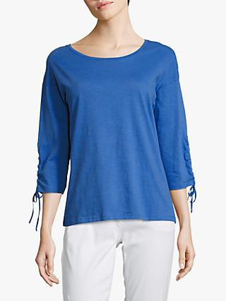 Betty Barclay Tie Cuff T-Shirt, Adria Blue