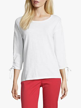 Betty Barclay Tie Cuff T-Shirt, Bright White