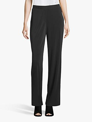 Betty Barclay Wide Leg Trousers, Black