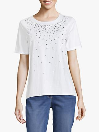 Betty Barclay Embellished Stud Top