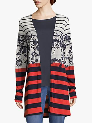 Betty Barclay Floral Striped Cardigan 0d34d3733