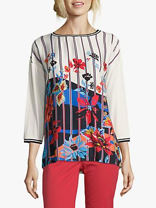ef6ad9c075bc Betty Barclay Embellished Floral Graphic Top