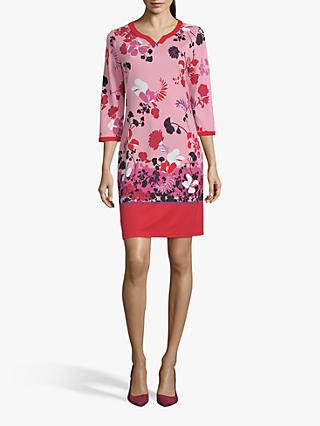 4609c5443 Betty Barclay Floral Round Neck Dress