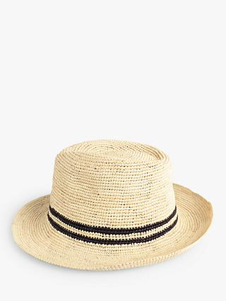 hush Crochet Panama Hat, Natural