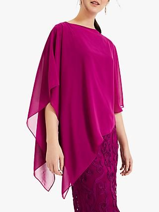 Phase Eight Sinead Asymmetric Cover Up, Magenta