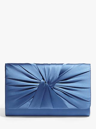 Phase Eight Gemma Satin Twist Detail Clutch Bag