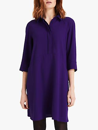 Phase Eight Bella Swing Dress, Violet
