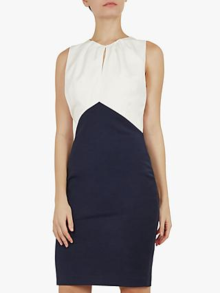 Ted Baker Zamelid Pencil Dress, Navy