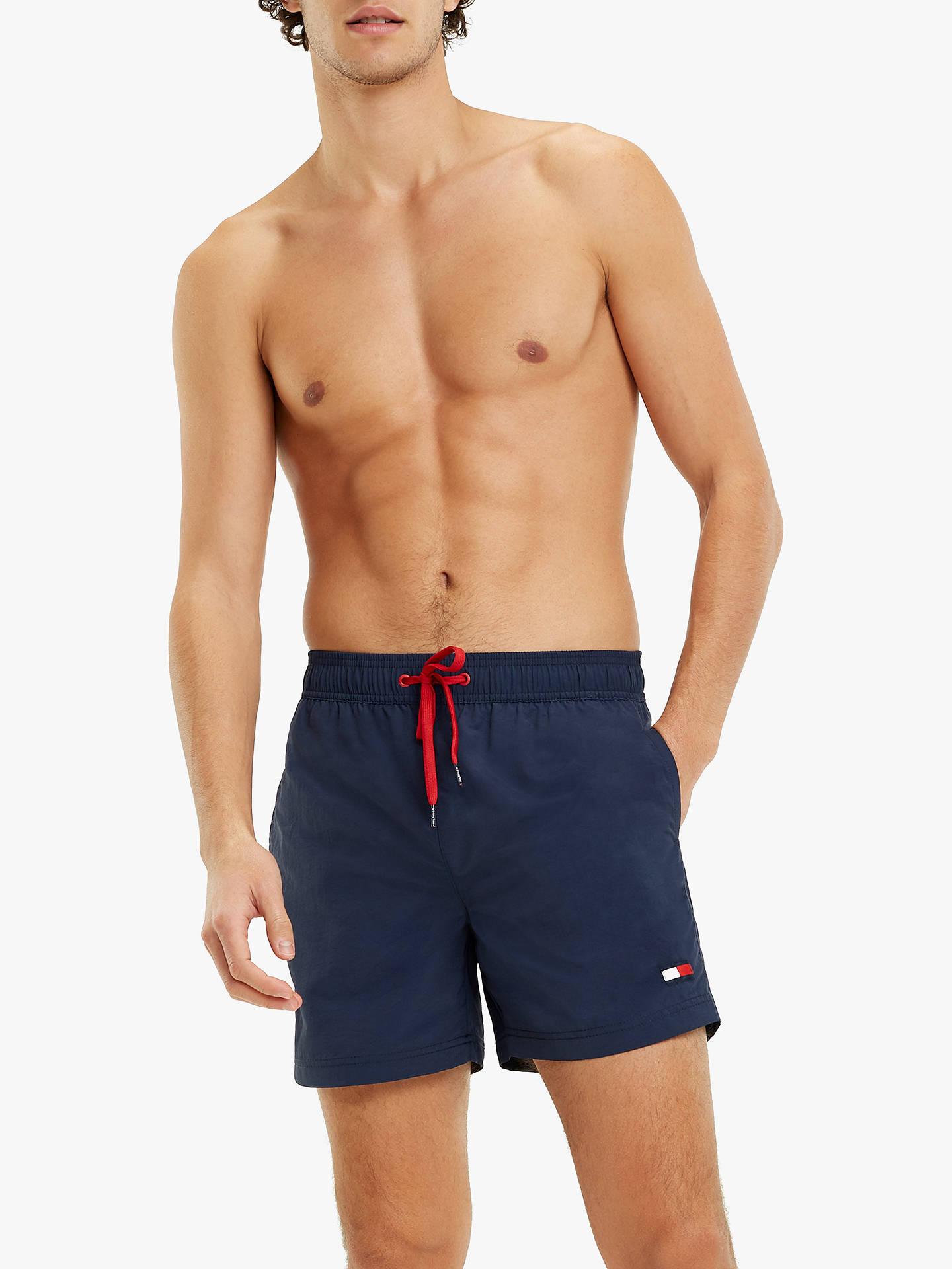 74eaf09d2a Buy Tommy Hilfiger Plain Swim Shorts, Navy Blazer, M Online at  johnlewis.com ...