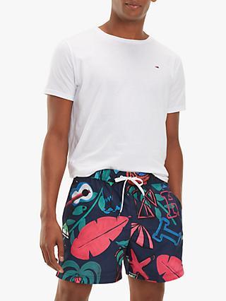 971c4955e77 Tommy Hilfiger Coco Tree Print Swim Shorts