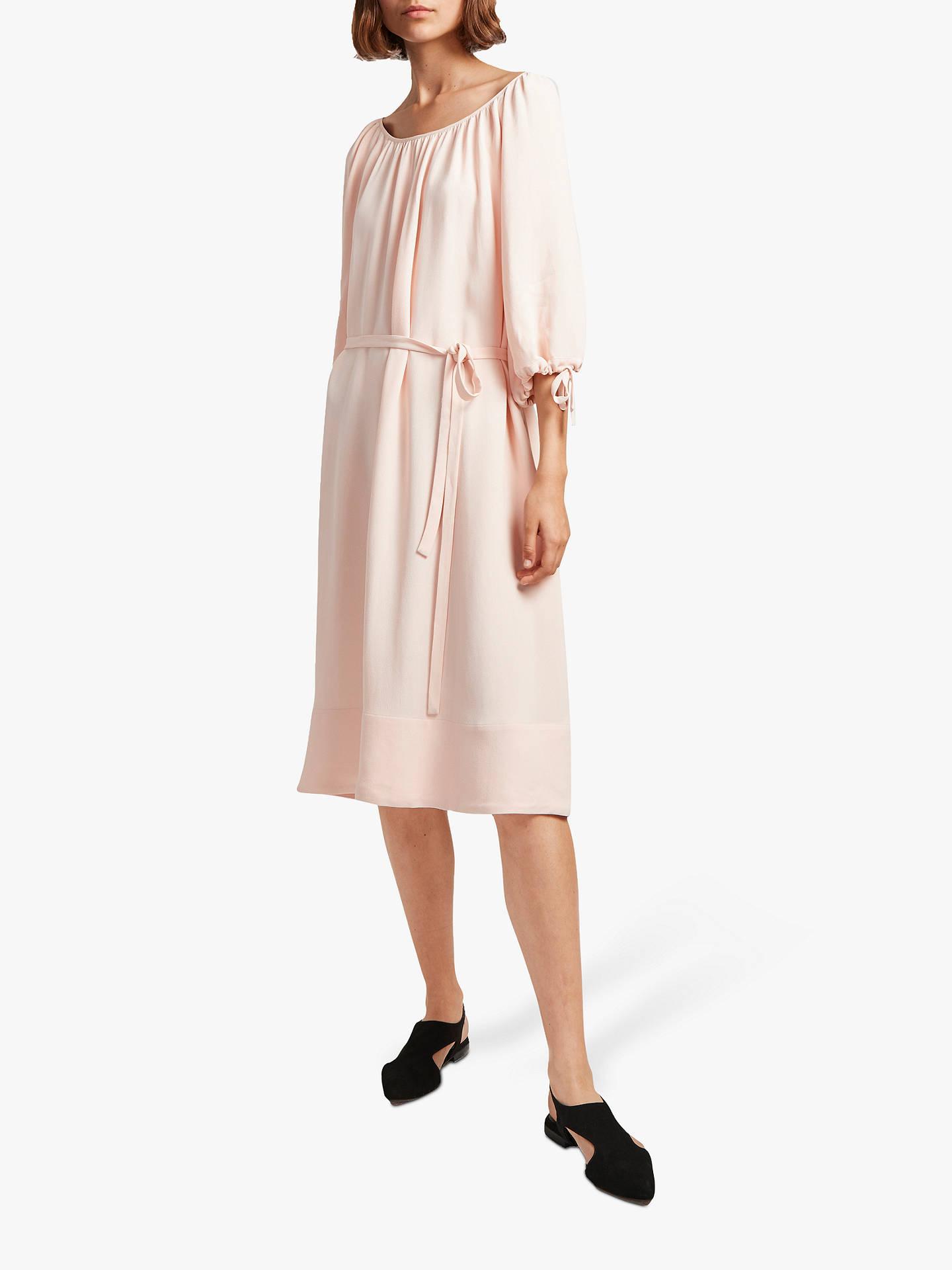 36c8ec6f6dc Buy French Connection Ezmiya Smock Dress, Satin Slipper, 8 Online at  johnlewis.com ...