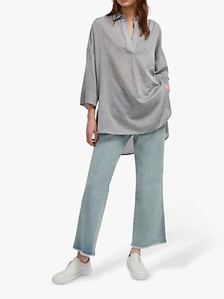 a102460a576e French Connection Jacinda Pop Over Shirt