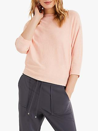 Phase Eight Christine Batwing Jumper, Apricot