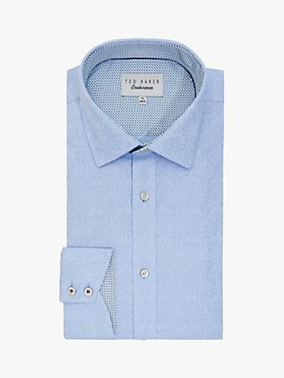 Ted Baker Cresent Geo Weave Shirt, Blue
