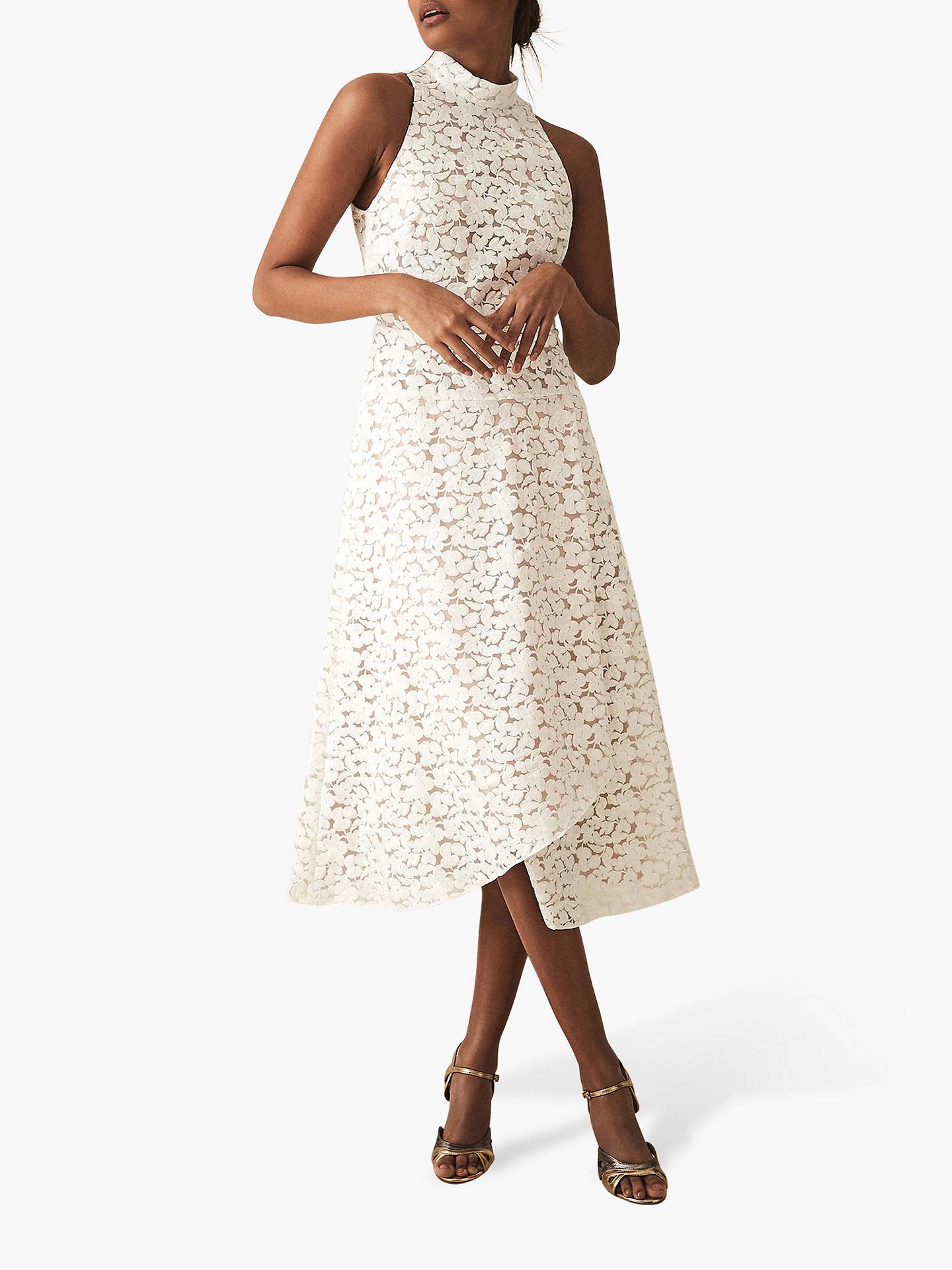 Reiss Siri Lace Dress White At John Lewis Partners
